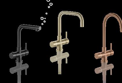 Multi-water kranen van Franke