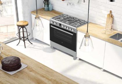ETNA introduceert: een nieuw gasfornuis met elektro-oven (90 cm!)